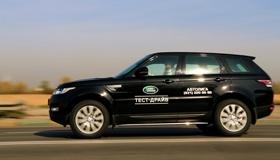 Range Rover Sport: Таблетка для искушенных