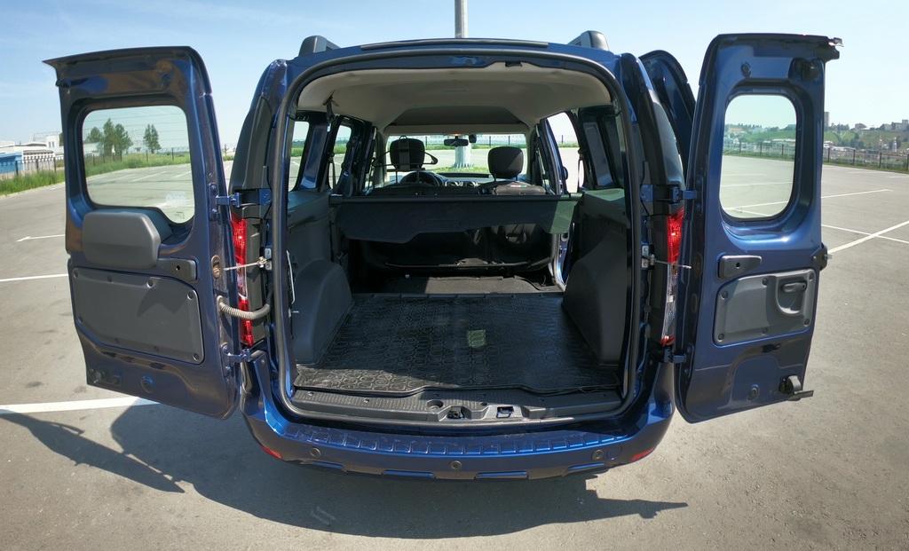 Renault Dokker багажник фото