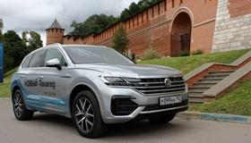 Тест-драйв НОВОГО Volkswagen Touareg: на голову выше